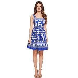 Kate Spade Lantern Poplin Flounce Dress, Size 6